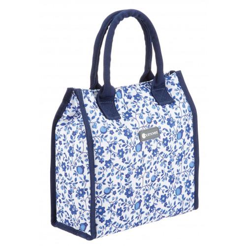 Kitchen Craft Kylväska, blå blommor, 4 liter