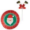 Wilton Muffinsform Cupcake Kit, Santa