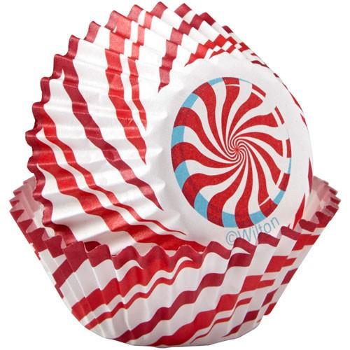 Wilton Minimuffinsform Candy Cane