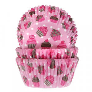 House of Marie Muffinsform Cupcake Pink