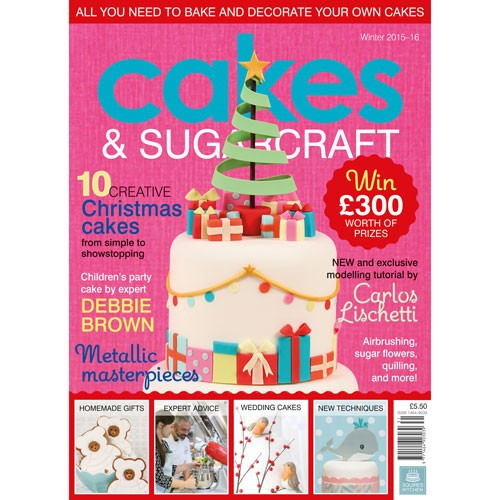 Squires Kitchen Cakes & Sugarcraft vinter 2015-16