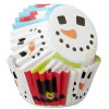 Wilton Minimuffinsform Sweet Snowman
