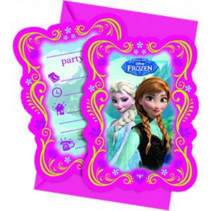 Disney Inbjudningskort Frozen