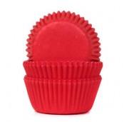 Röda minimuffinsformar