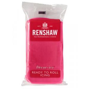 Renshaw Sockerpasta Fuchsia Rosa