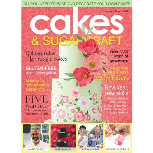 Squire Kitchen Cakes & Sugarcraft nr 132, Feb-Mar 2016
