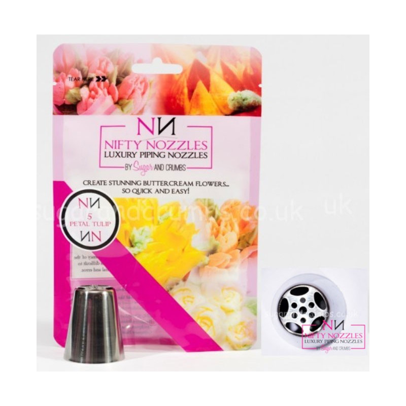 Nifty Nozzles Tyll 5 Petal Tulip