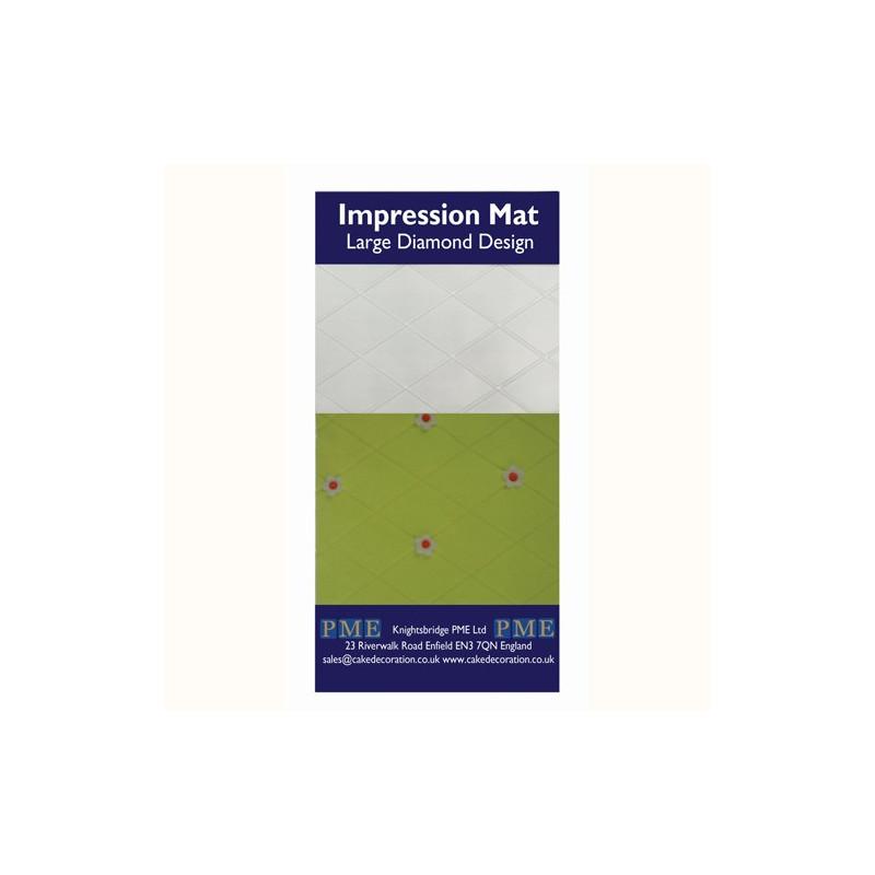 Impression Mat Large Diamond Design - PME
