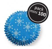 Minimuffinsform snöflingor