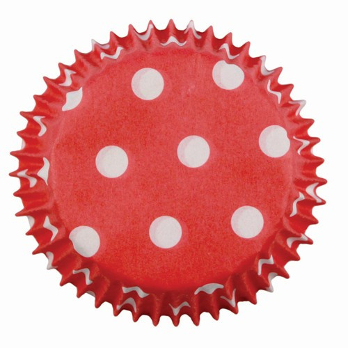 PME Minimuffinsform Red Polka Dots