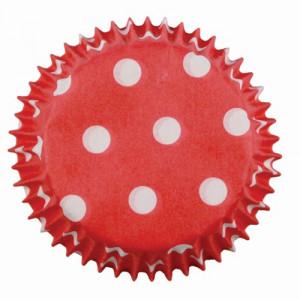 PME Minimuffinsform Red Polka Dots