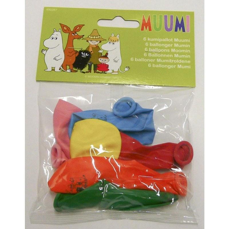 Ballonger Mumin 6 st