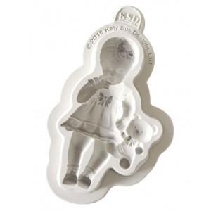Katy Sue Designs Silikonform Baby Girl