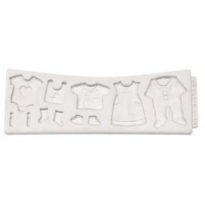 Katy Sue Designs Silikonform Babykläder