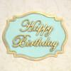 Katy Sue Designs Silikonform Happy Birthday