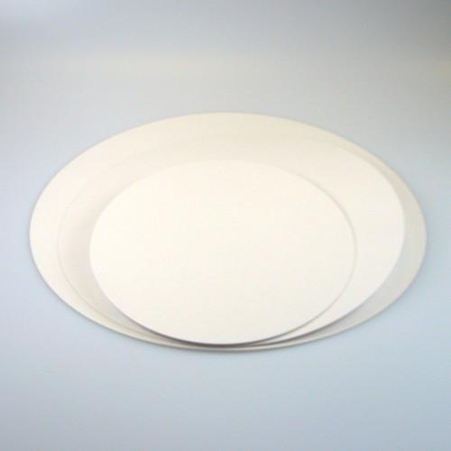FunCakes Tårtbricka vit, 22 cm, 5-pack