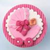 Katy Sue Designs Silikonform Sugar Buttons Barnvagn