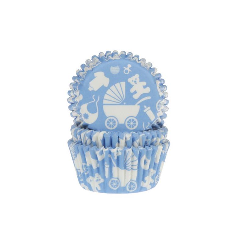House of Marie Muffinsform Newborn, blå