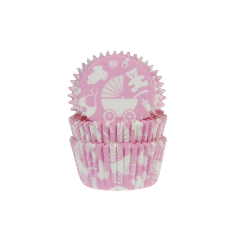 House of Marie Muffinsform Newborn, rosa