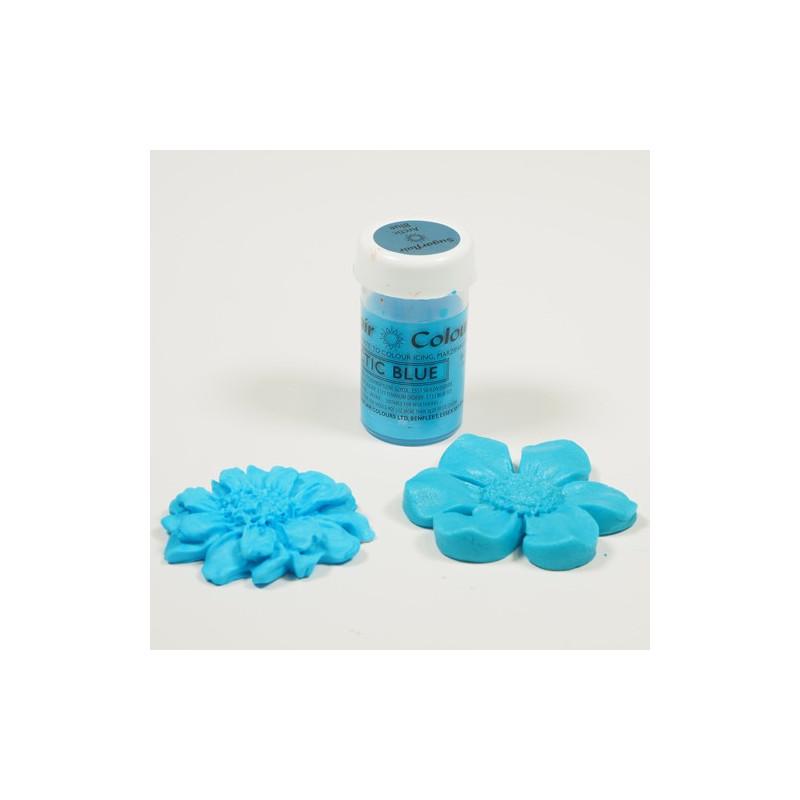 Sugarflair Pastafärg Blå, Arctic Blue