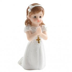 Tårtdekoration Flicka som ber