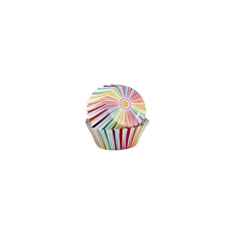 Wilton Muffinsform Color Cups, Bright Sunrays
