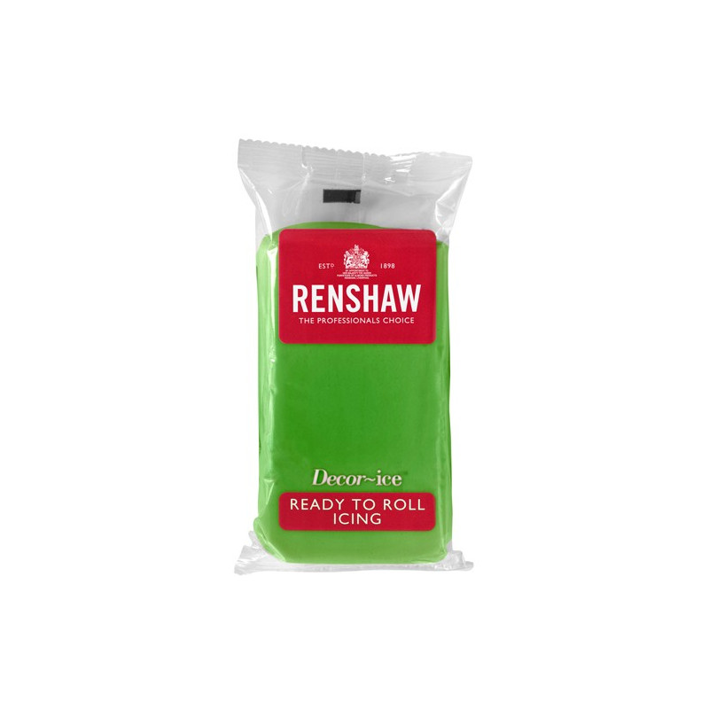 Renshaw Sockerpasta Lincoln Green, 500 g