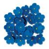 PME Sockerblommor Blåa 2,5 cm