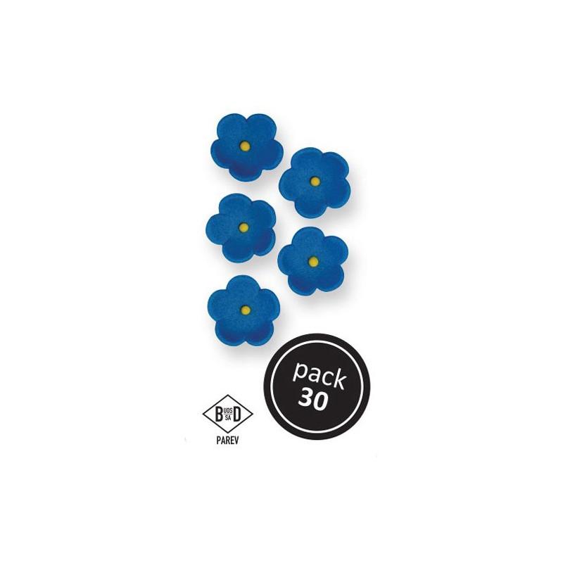 PME Sockerblommor Blåa 2 cm