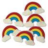 PME Tårtdekorationer Regnbågar, ätbara