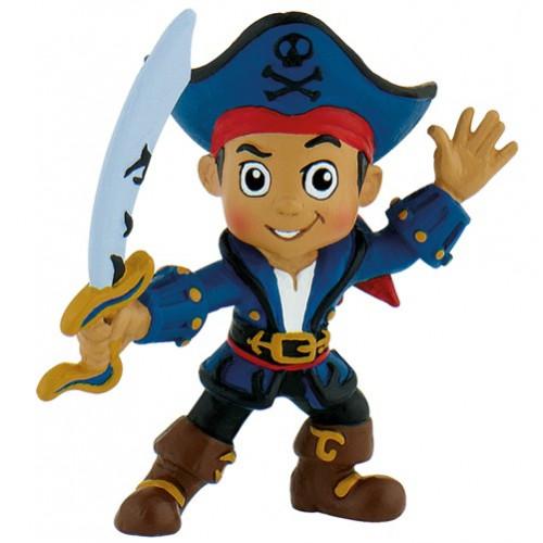 Disney Tårtdekoration i plast, Jake och piraterna