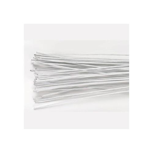 Culpitt Gum paste wire, metalltråd, vit, 0,6 mm