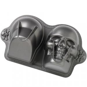 Wilton Bakform 3D Dödskalle