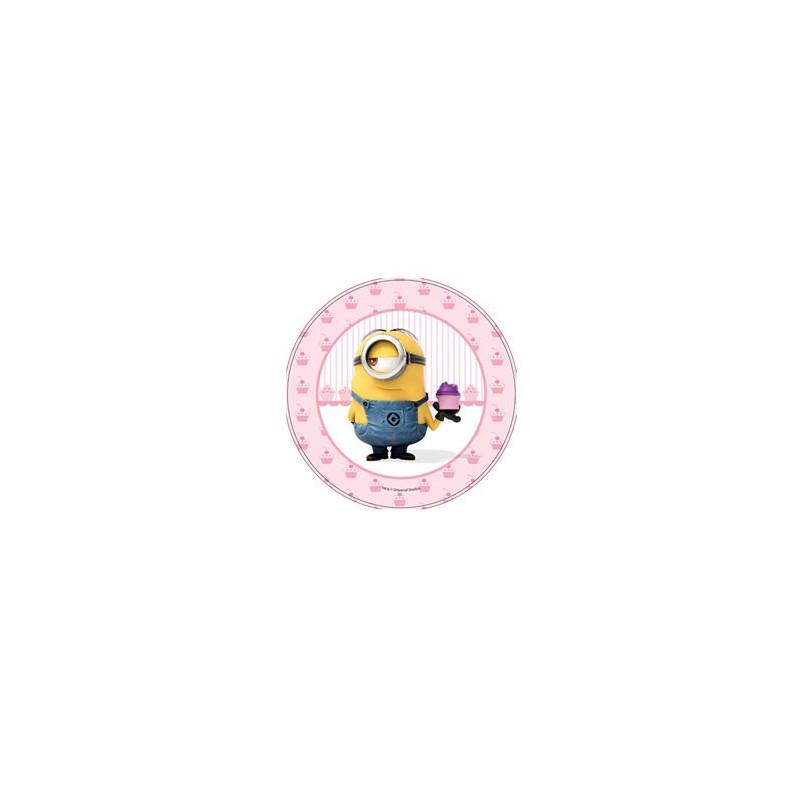 Modecor Tårtbild i sockerpasta, Minions (D)