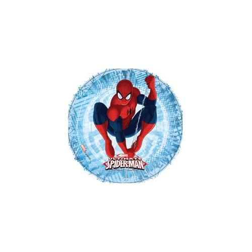 Modecor Tårtbild i sockerpasta, Spindelmannen (C)
