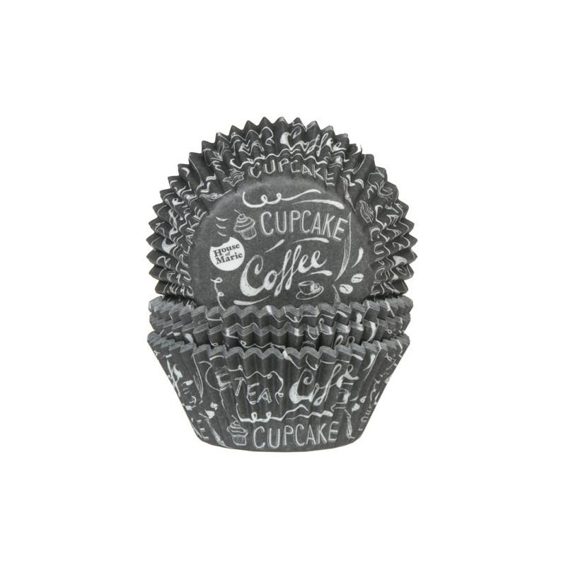 House of Marie Muffinsform Coffee Tea Cupcake