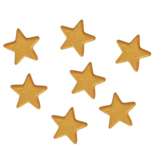 FunCakes Tårtdekorationer Stjärnor, guld, ätbara