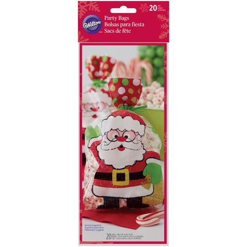 Wilton Godispåsar Merry Bright Santa