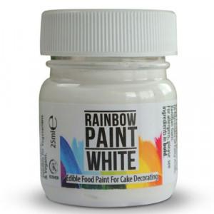Rainbow Dust Ätbar Färg, Vit
