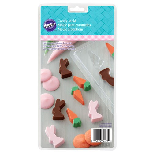 Wilton Candy Mold Chokladform, Påsk