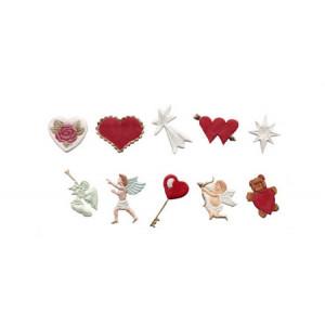 Fmm Utstickare, Hearts & Cherubs