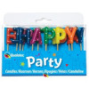 Qualatex Tårtljus Happy Birthday Multi