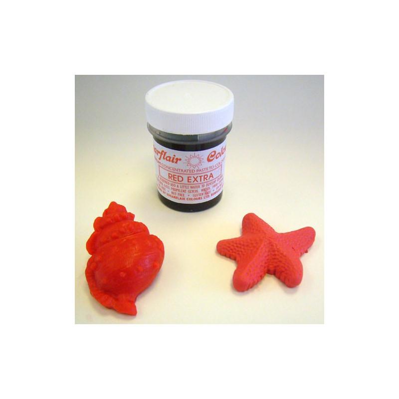Sugarflair Pastafärg Extra Röd