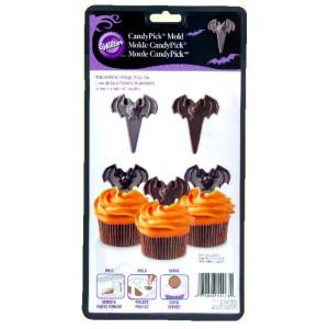 Wilton Candy Mold Chokladform, Fladdermus