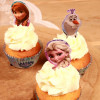 Stor Cupcake Toppers Frozen