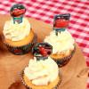 Stor Cupcake Toppers Bilar