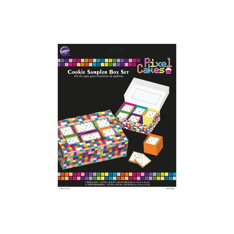 Wilton Pixel Cakes Kakbox, 2 st