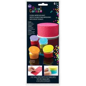 Wilton Pixel Cakes Texturmattor
