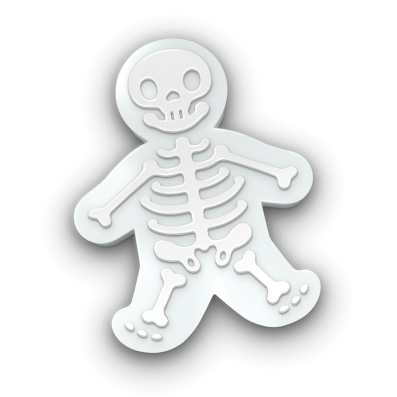 Fred Utstickare Gingerdead Men, Skelett