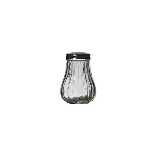 Exxent Sockerströare, rostfritt stål och glas, Ø 5,5 cm